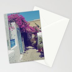 Santorini Walkway VI Stationery Cards