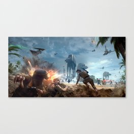 Battlefront Canvas Print