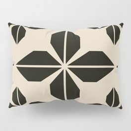 Midcentury Abstract Flowers Pillow Sham