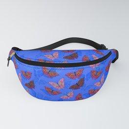 BlueSmallButterflies Fanny Pack