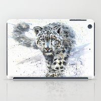 snow leopard iPad Cases featuring snow leopard by KOSTART