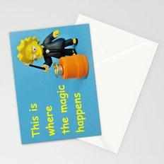 Lisa Magic Stationery Cards