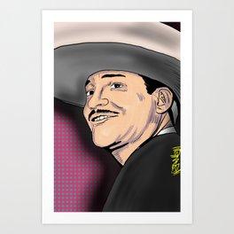 Javier Solis Art Print