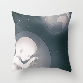 Space 06 Throw Pillow