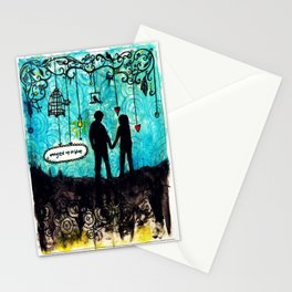 Tangled Up in Love Stationery Cards