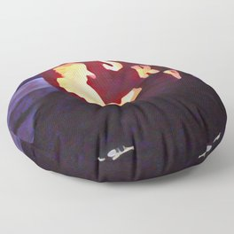 Texas Blues Halloween Floor Pillow