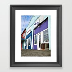 Architecture in color Framed Art Print