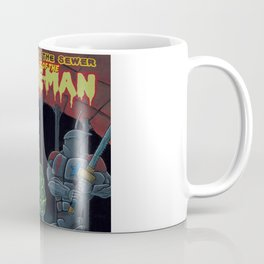 Tales from the sewer Attack of the Slime Man! Coffee Mug