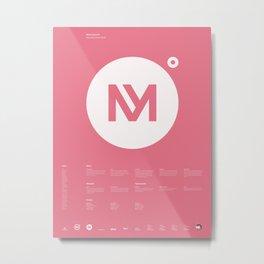Minervalerio Metal Print