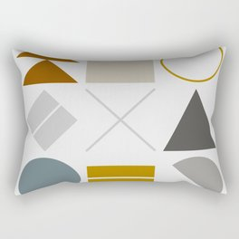 Mid West Geometric 02 Rectangular Pillow