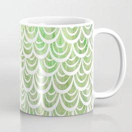 Watercolor Mermaid Peridot Coffee Mug