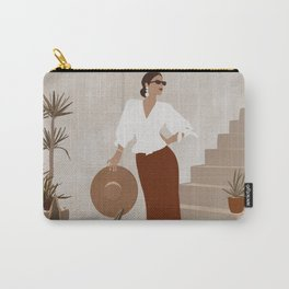 African Spring Summer Carry-All Pouch