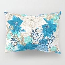 Blue Winter Pillow Sham