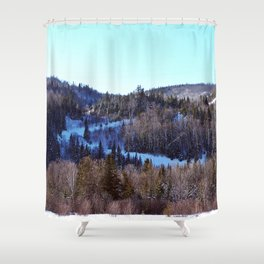 Switchback Trail Shower Curtain