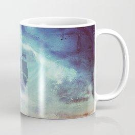 Surreal Pirate Ship // Abstract Space Wave // Pirate Galaxy Coffee Mug