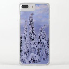 The Winter Wonderland Clear iPhone Case