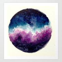 Planetary Nebula Art Print