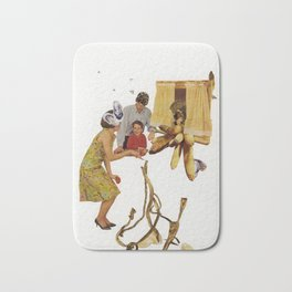 When's Dinner Bath Mat