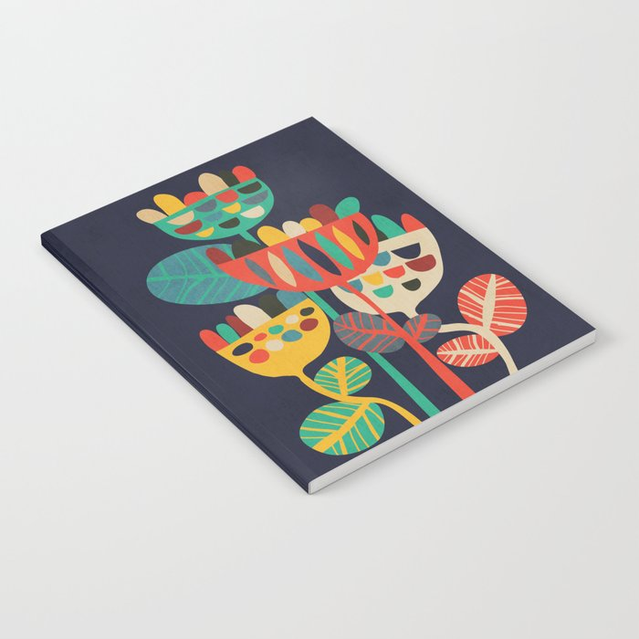 Wild Flowers Notebook