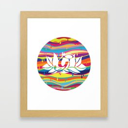 GULLY EXCLUSIVE Framed Art Print