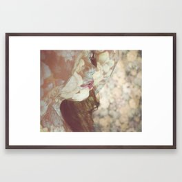 Flower Skin Framed Art Print