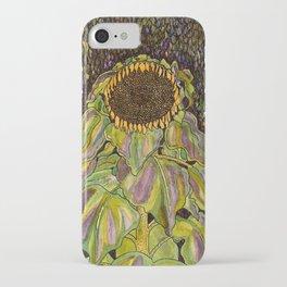 Klimt Sunflower iPhone Case