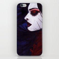 Sunk deep in the night... iPhone & iPod Skin