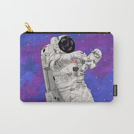 Hypebeast Spaceman Floating In Space | High Quality Artwork Carry-All Pouch
