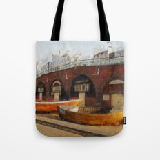Brighton Boats Tote Bag