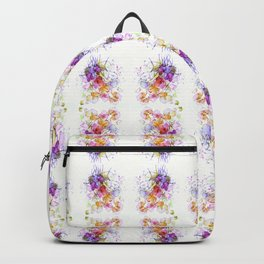 Sweet Flowers Watercolour Backpack