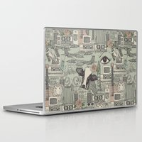 airplanes Laptop & iPad Skins featuring Dolly et al by Sharon Turner