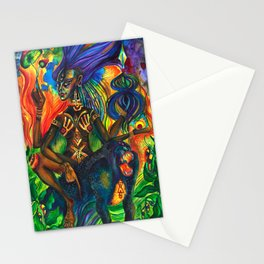 African Goddess Stationery Cards
