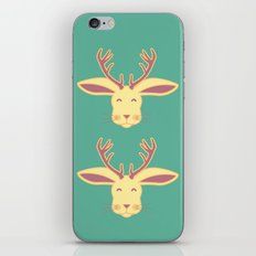 Happy Jackalope iPhone & iPod Skin