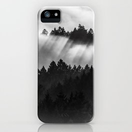 Fog Invasion, San Francisco Bay Area iPhone Case