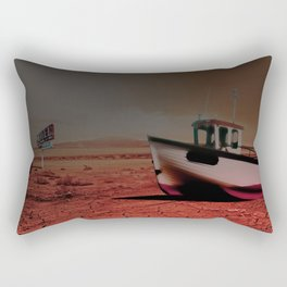 Deseert Boat Rectangular Pillow