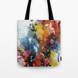 Calyces Fruits Abstract Tote Bag