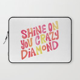 Shine On Your Crazy Diamond – Pink & Melon Palette Laptop Sleeve
