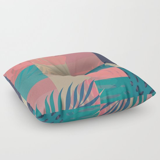 Floor Pillows Society6 : Tropical Mess #society6 #decor #buyart Floor Pillow by DesigndN Society6