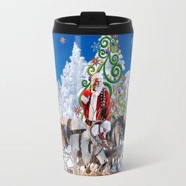 Santa Kringle Claus Travel Mug