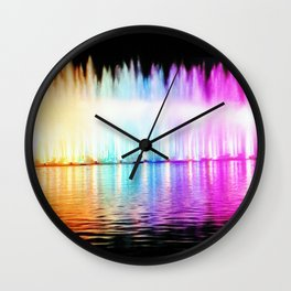 Fountain of the Youth Wall Clock