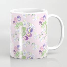 Pansies Neck Gator Purple Pansy Coffee Mug