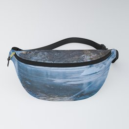 Blue Ice of the Lake Baikal Fanny Pack