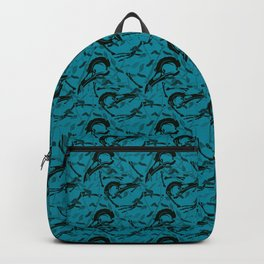 Blue Decay Backpack