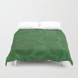 Green Agate Duvet Cover