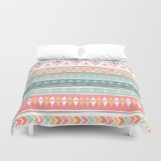 Navajo tribal pattern Duvet Cover