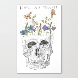 Gifted   With   Thought Canvas Print