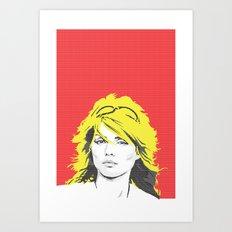 DEBBIE HARRY Art Print