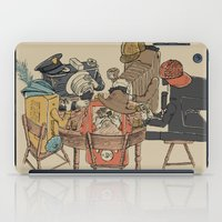 poker iPad Cases featuring Polaroid Poker by Romayne Robinson