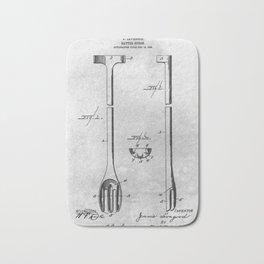 Batter spoon Bath Mat