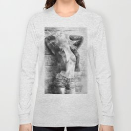 Pencil You In Long Sleeve T-shirt